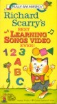 Richard Scarrys Best Learning Songs Video Ever!