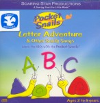 Pocket Snails: Letter Adventure and Other Silly Songs (CD)