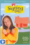 Signing Time Volume 4: Family, Feelings and Fun
