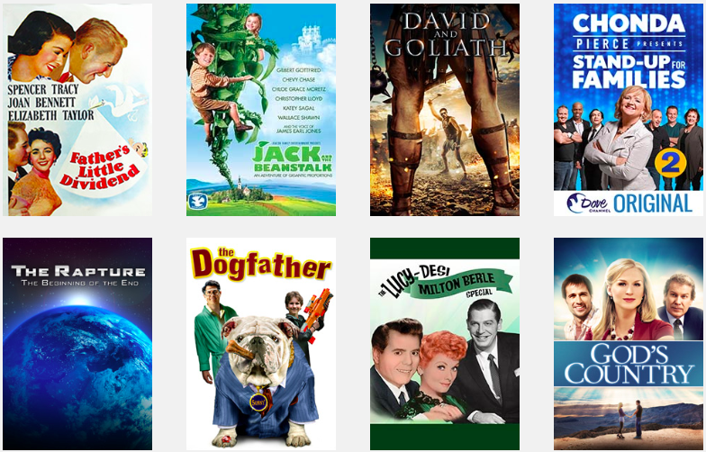 FREE MOVIES AND TV SHOWS THIS WEEK ON DOVE CHANNEL! - Dove org